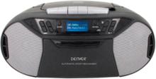 Boombox med FM/CD/KASSETT/AUX