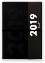 Ordning & Reda - Jorgen Calendar 2019 A5 15x22 cm, Black