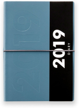 Ordning & Reda - Jorgen Calendar 2019 A5 15x22 cm, Morroco Blue