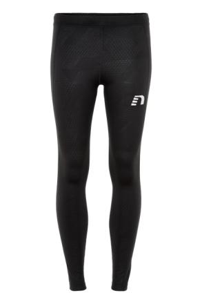 Black Embossed warm tights (Färg: Svart, Storlek: M)