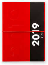 Ordning & Reda - Jorgen Calendar 2019 A6 11x15 cm, Red