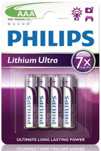 Philips Ultra Lithium AAA FR03 4-pack
