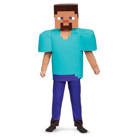 Minecraft, Steve, Deluxe, Size S - CDON.COM