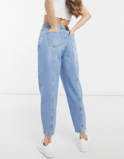 Reclaimed Vintage inspired the new 84' balloon jean in vintage pblue wash