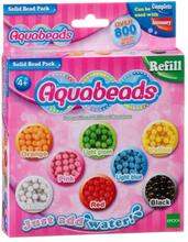 Aquabeads Refill med matta pärlor