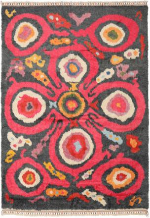 Handknotted Berber Shaggy matta 237x337 Modern Matta