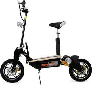 Elscooter 2000W Pro | 55+ km/tim | Svart