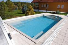 Swim & Fun Poolpaket Menorca Compact-Tenerife Grey