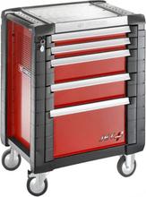 Facom JET.5M3 Verktygsvagn 5 lådor, 12 moduler, röd