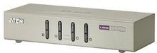 Aten 4-Port KVM Switch Silver