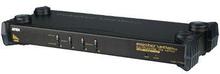 Aten 4-Port KVM Switch Svart