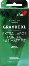 RFSU Grande XL: Kondomer, 15-pack