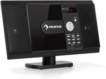 MCD-82 BT Vertikal Stereoanläggning DVD/CD Bluetooth USB/SD FM HDMI Svart