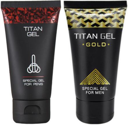 Titan Gel + Gold - spara 10%
