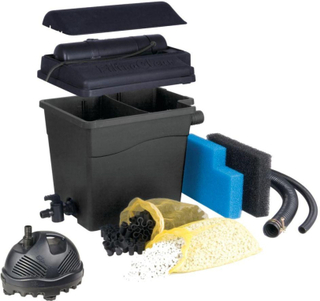 Ubbink Dammfilter Filtraclear 4500 Plusset 1355165 Svart
