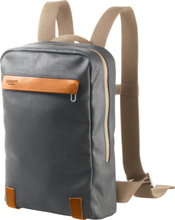 Brooks Pickzip Canvas Backpack small grey/honey 2020 Cykelryggsäckar