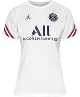 Paris Saint-Germain Trenings T-Skjorte Dri-FIT Strike Jordan x PSG - Hvit/Navy Dame