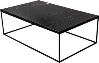 Jaguaren - Soffbord i marmor 120x75cm - Svart