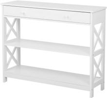 Sivupöytä valkoinen MONTGOMERY