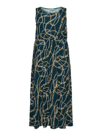 ONLY Sleeveless Dress Women Blue