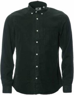 NN07 Falk 5969 Dark Green Skjorta