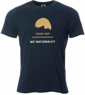 NN07 Mauro Print Tee 3357 Navy Blue T-shirt
