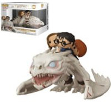 Harry Potter Dragon with Harry, Ron & Hermione Funko Pop! Ride