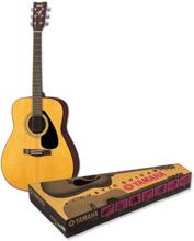 Westerngitarr paket Yamaha F 310P 4/4 Trä inkl. väska