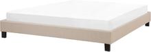 Sänky 180x200 cm beige ROANNE