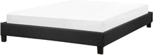 Sänky 160x200 cm harmaa ROANNE