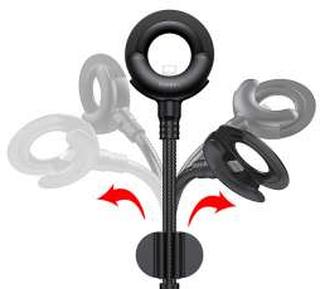 Baseus O-type mount kabel USB til lightning kabel