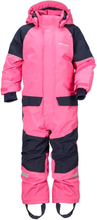 Didriksons Bille Kids Coverall Barn Overall Rosa 90