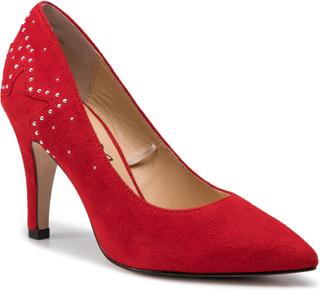 Stilettos CAPRICE - 9-22405-23 Red Suede 530
