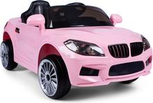 Elbil för barn 12V - Rosa - 2x25W Cab