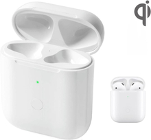 Qi Laddningsetui laddbox för AirPods AirPods 2 Bluetooth