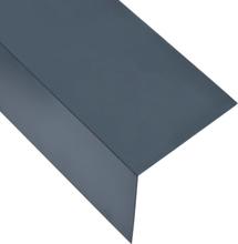 vidaXL Vinkelstång 90° L-profil 5 st aluminium antracit 170cm 100x100 mm