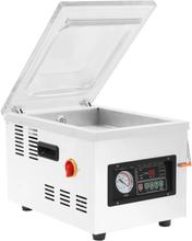 vidaXL Professionell vakuumförpackare 400 W rostfritt stål