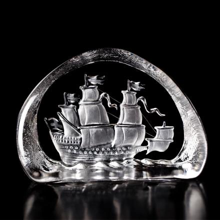 Målerås Glasbruk - Vasa Ship
