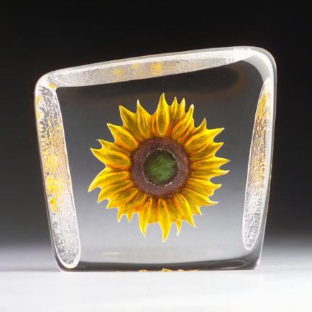 Målerås Glasbruk - Floral Fantasy Solsikke Gul