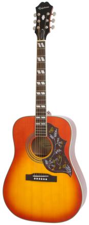 Epiphone HummingbirdPro western-gitar fadedcherryburst