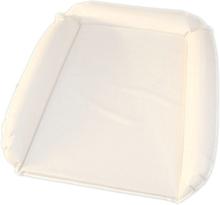 Skötbädd Uppblåsbar vit