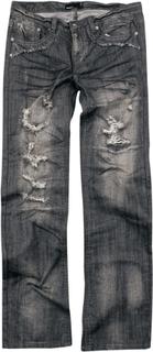 Forplay - Salomon -Jeans - svart/used look