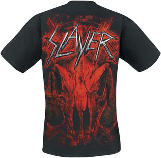Slayer - Mongo Goat -T-skjorte - svart