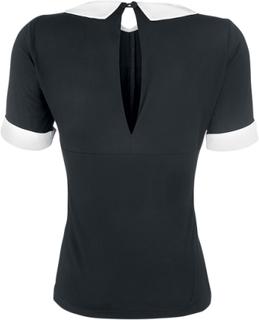 Dancing Days - Morticia -T-skjorte - svart