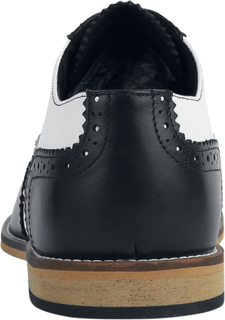 Steelground Shoes - Classic Brogue -Sko Med Snøring - svart