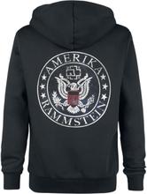 Rammstein - United States -Hettejakke - svart