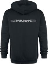 Rammstein - Broken Logo -Hettegenser - svart