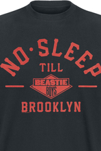 Beastie Boys - No Sleep Till Brooklyn -T-skjorte - svart