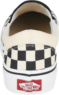 Vans - Classic Slip On Checkerboard -Sneakers - svart-råhvit