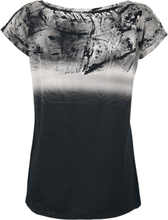 Outer Vision - Marylin Spatolato -T-skjorte - svart, grå